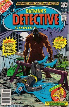 Detective Comics 480 1937 1st Series November 1978 DC