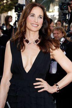 Andie Macdowell pour L'Oréal Paris