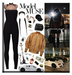 """She never left the city but she's not local"" by xo-jas ❤ liked on Polyvore featuring Ann Demeulemeester, MARA, Zara, Huda Beauty, Audemars Piguet and Givenchy"