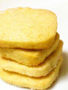 Easy Lemon Sugar Cookies Recipe by cookpad. Lemon Recipes, Sweets Recipes, Cookie Recipes, Lemon Sugar Cookies, Sugar Cookies Recipe, Easy Sweets, Cafe Food, Homemade Cookies, Tray Bakes