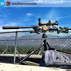 """Boom! From @southerncrossllc --- This is ""Covert"" and it was built by @marc_at_spartan and @vpsmedeiros of Spartan Precision in San Jose, CA. The weapon…"""