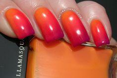 ways to wear orange nail art