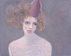 art  Kristin Vestgard  Birthday girl  oil on canvas  2004