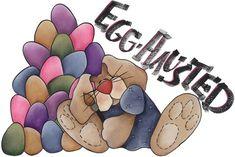 clipart imagem decoupage Egg-Hausted