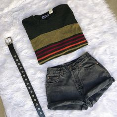 Striped knits lived-in denim and #y2k grommet belts all up for grabs now in the shop!