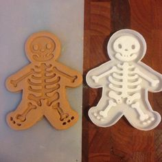 Skeleton Cookie Cutter  Halloween by CavidDesigns on Etsy