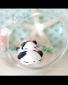 Panda polymer clay Polymer Clay Kawaii, Glass Of Milk, Panda, Craft Ideas, Crafts, Manualidades, Handmade Crafts, Craft, Pandas