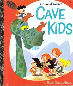Little Golden Book: Cave Kids