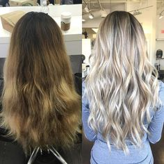 Highlights For Dark Brown Hair, Brown Hair Balayage, Brown Blonde Hair, Hair Color Balayage, Hair Highlights, Brown To Blonde Hair Before And After, Blonde Balyage, Haircolor, Hair Affair