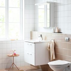 Badmiljöer – Nytt kök badrum och tvättstuga - Vedum kök och bad AB