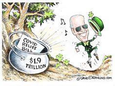 Time Capsule, Political Cartoons, The Funny, Humor, Kamala Harris, Joe Biden, Editorial, American, Humour