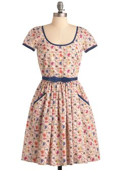 Cute ModCloth dress, would love to copy it