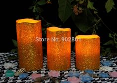"Cheap candle sale, Buy Quality candle tart directly from China candle wax Suppliers: Funlife Hot Sale 2"" 3"" 4"" 3pcs Wedding Party Candle Happy Tear Ivory LED Candle Paraffin Wax Candle Decor Free Shipping"