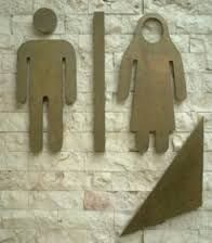 Image result for quirky bathroom signs