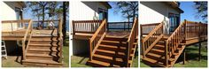 Cedar deck finished with Armstrong Clark oil mix. Deck Finishes, Cedar Deck, Oil Mix, Types Of Wood, Decks, Restoration, Outdoor Decor, Home Decor, Wood Types