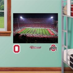 OHIO STATE BUCKEYES Ohio Stadium Digital Stadium By 6StarGraphs | Decor  Ideas | Pinterest | Ohio Stadium, Ohio State Buckeyes And Buckeyes Part 77