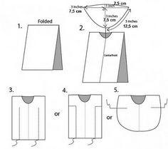 simple kaftan 3 ways Diy Clothing, Sewing Clothes, Gypsy Clothing, Sewing Hacks, Sewing Tutorials, Dress Patterns, Sewing Patterns, Old Baby Clothes, Summer Clothes