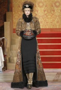 Tapestry Coat for Chanel Fall 2009 Collection