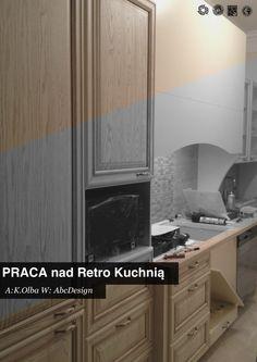 Retro kitchen designe by Karolina Olba product by Abc Design. // in ...