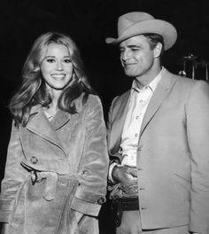 THE CHASE (1965) - Marlon Brando & Jane Fonda - Columbia Pictures - Publicity Still