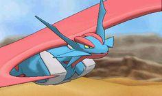 Mega Salamence Mega Alakazam, Mega Swampert, Mega Charizard, 3ds Pokemon, Pokemon Alpha, Mega Mawile, Centro Pokemon, Mega Evolution, Dragons