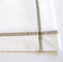 serged napkins