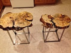 End tables Custom end table  Hand-made