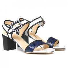 Lucrezia introduces the navy chic style. #ballin #ballinshoes #shoes #fashion #style #ss15