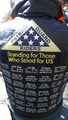 Patriot Guard Rides Honor Fallen Heroes