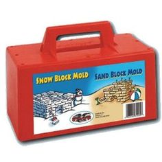 Gifts for Families ~ And to make the fort…I suggest the Flexible Flyer Snow Block Form, also a great price and super convenient for making snow bricks.
