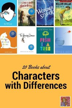 Best books for kids, 20 books about kids who have a physical or mental challenge, freebie activity page download for your classroom too