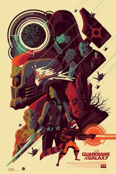 'Guardians Of The Galaxy' (Regular Edition) by Tom Whalen