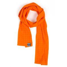 PUNCHI- Robosonice Orange - #Scarf that's a towel, #Towel that's a scarf