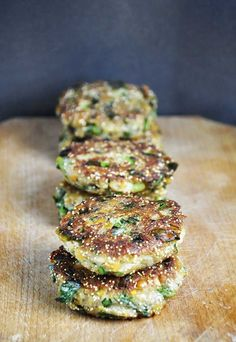 Lentil and Amaranth Patties. These lentil and amaranth patties are healthy easy to make vegan and delicious! Youll love their crispy texture and lovely taste! Vegan Lentil Recipes, Vegan Vegetarian, Vegetarian Recipes, Healthy Recipes, Amaranth Recipes, Whole Food Recipes, Cooking Recipes, Legumes Recipe, Vegan Burgers