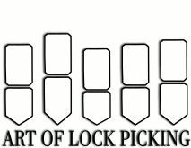 Chicago toolbox and compact on pinterest for Lock pick rake template