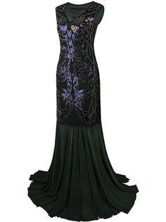 Amazon.com: Vijiv 1920s Long Prom Dresses V Neck Beaded Sequin Gatsby Maxi Evening Dress: Clothing  https://www.amazon.com/gp/product/B01MPWFCEN/ref=as_li_qf_sp_asin_il_tl?ie=UTF8&tag=rockaclothsto-20&camp=1789&creative=9325&linkCode=as2&creativeASIN=B01MPWFCEN&linkId=b443b0bdf2f0a780e9294de824429794