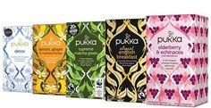 Image for Pukka Organic Teas Pukka Tea, Pukka Herbs, Best Tea Brands, Best Organic Coffee, Organic Supplements, Benefits Of Organic Food, Genetically Modified Food, Food Insecurity, Organic Fruits And Vegetables