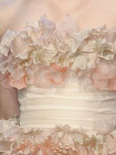 "ingenue: ""lamorbidezza: "" Jason Wu Spring 2011 Details "" I thought this was a painting at first """