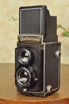SUPERB! 1937 Rolleicord CLA'd #Rollei
