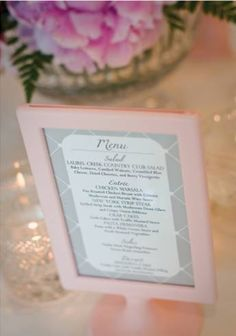 Pink Ikea Tolsby Frames for Sale - South Jersey :  wedding pink frame table numbers menu reception Pink Frames