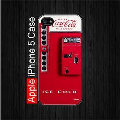 New Vintage Red Antique Soda Coca Cola Machine iPhone 5 Case | onlinestore - Accessories on ArtFire