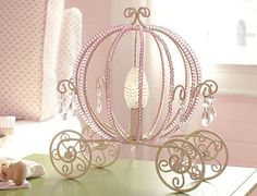 why not a Cinderella pink lamp ?
