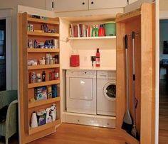 Image result for como esconder a porta do closet