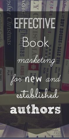 effective book marketing for authors