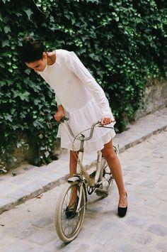 summer biking style | camille styles