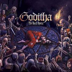 "GODITHA: ""Goditha - The Rock Opera"" The Rock, Death Metal, Black Metal, Comic Books, Halloween, Movie Posters, Painting, News, Music"