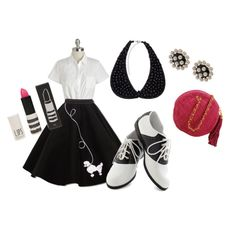 """50's Fashion #2"" by leannuuuh on Polyvore"