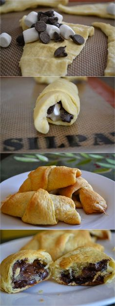 Crescent Roll S'more Recipe Flop