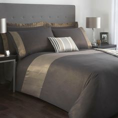 J by Jasper Conran Dark Grey 'Cavendish' bed linen- at Debenhams.com