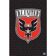 D.C. United Logo Poster Print #mls